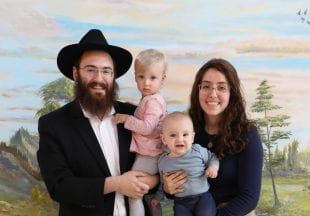 Rabbi Shmuli Slonim runs Chabad with wife Nechama. (Photo courtesy Chabad at Rice)