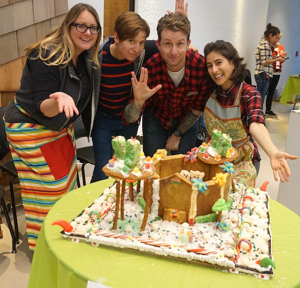 Team VADA gingerbread house