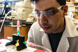 Rice University bioengineering graduate student Bagrat Grigoryan
