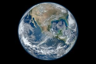 Composite image of the full Earth