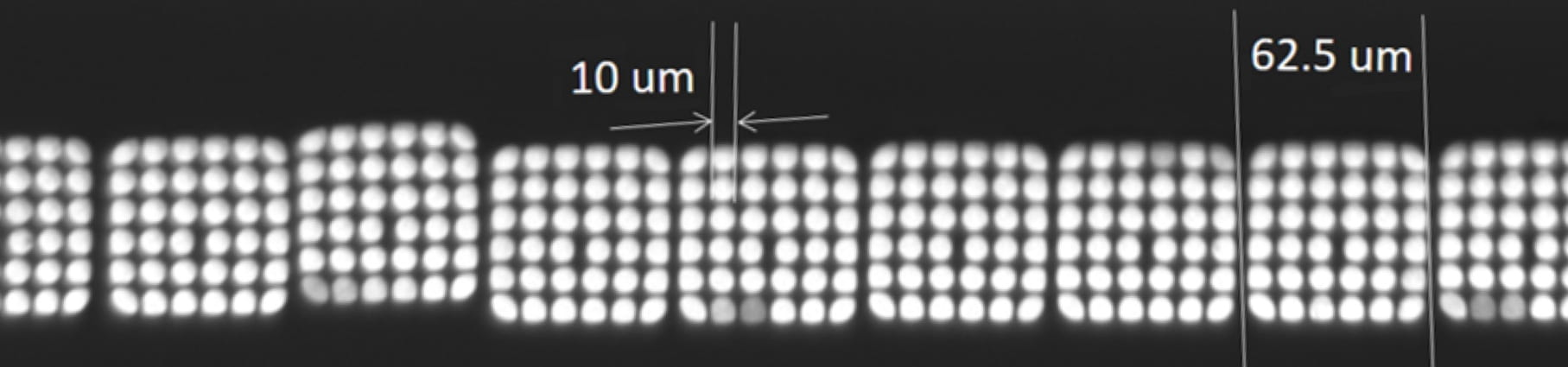 Bundles of optic fibers in the TuLIPSS spectrometer deliver spatial and spectral data to a detector in an instant.