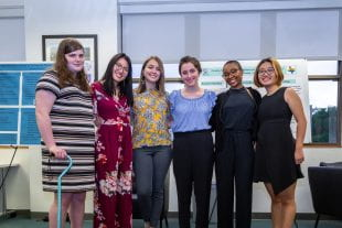 Rice students presented six capstone projects April 24 for the Seminar and Practicum in Engaged Research through Rice's Center for Women, Gender and Sexuality.