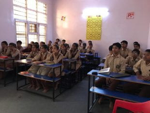 """Here in India, the students totally enjoyed it,"" Singh said."