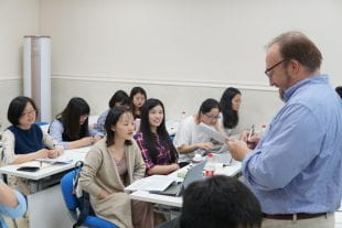 Rice Associate Professor of History Randal Hall spent a week teaching American Southern history at Southwest University in Chongqing, China.