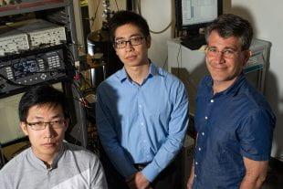 Rice University physicists Liyang Chen, Panpan Zhou and Doug Natelson