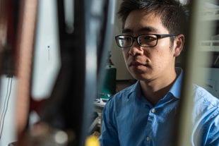 Rice University graduate student Panpan Zhou