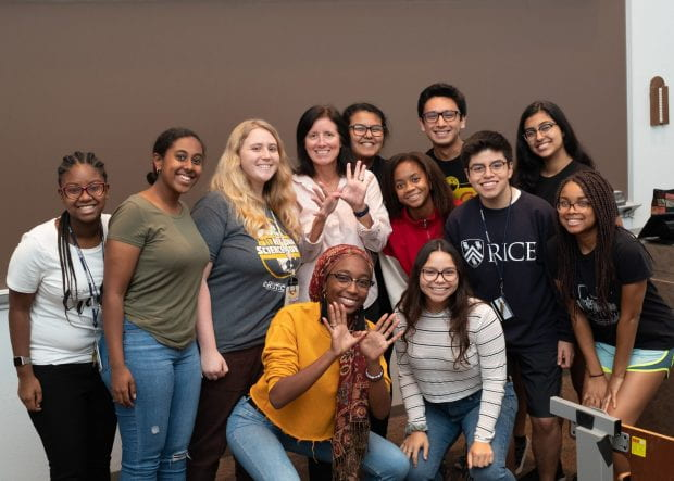 Shannon Walker '87 spoke with Rice Emerging Scholars about her time at Rice and how it prepared her for success at NASA.