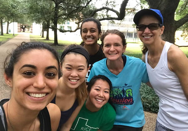 From left: Natoli, Tan, Kundrod, Megan Chang, Katelin Cherry and Rebecca Richards-Kortum.