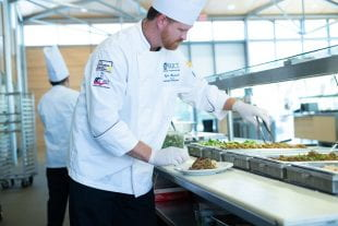 """I'd have this for breakfast, lunch and dinner,"" said assistant dining director and senior executive chef Kyle Hardwick."