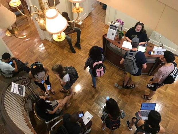 Hundreds of students seeking career advice hit up the annual Open House and Resumayhem event at the Center for Career Development (CCD) Sept. 6.