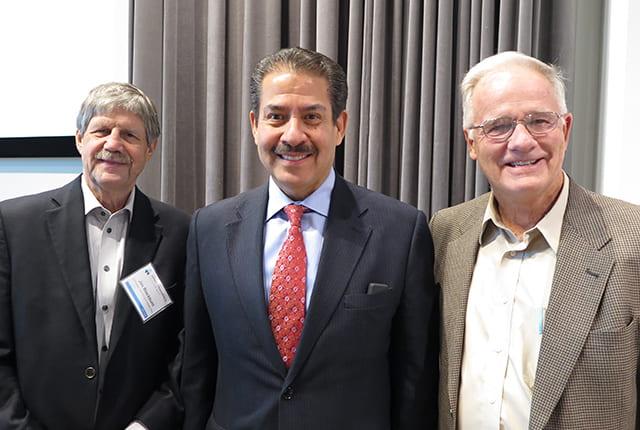 Jim Blackburn, Adrian Garcia and Phil Bedient