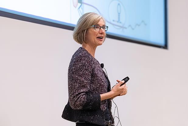 UC Berkeley biologist Jennifer Doudna