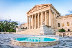 The U.S. Supreme Court building. Photo by 123rf.com