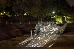 """""""Flow"""" will take place in two 20-minute performances in the downtown park Nov. 9."""