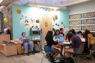 Coffeehouse is a second home for students, faculty and staff alike. (Photo by Jeff Fitlow)