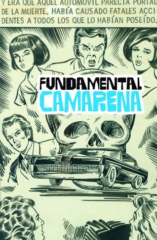 """VADA professor Christopher Sperandio's new book, """"Fundamental Camarena,"""" features a 2019 interview with the artist and over 90 pages of his drawings."""