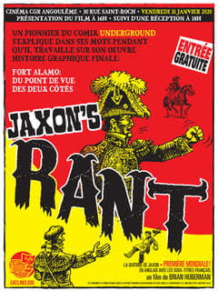 """VADA professor Brian Huberman's documentary, """"Jaxon's Rant,"""" has been translated and dubbed in French for the Angoulême festival."""