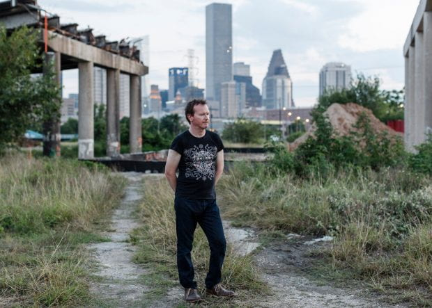'The philosopher-poet of the Anthropocene': Timothy Morton, presenter of Radio 4's The End of the World Has Already Happened. Photograph: Max Burkhalter/The Guardian