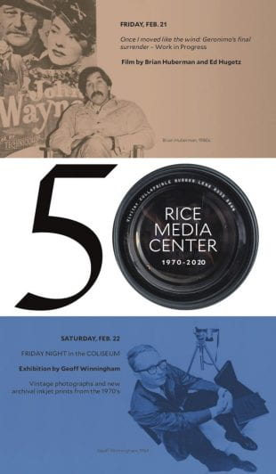 Rice Media Center celebrates its 50th anniversary