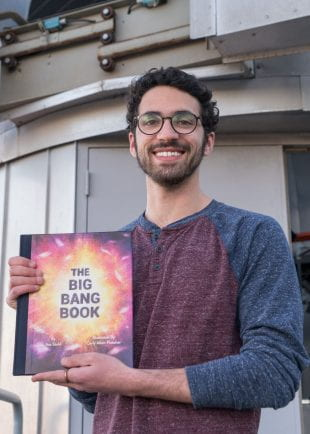 "Asa Stahl's ""The Big Bang Book"" comes out April 7 in hardcover. (Photos by Brandon Martin)"
