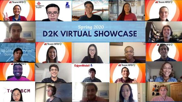 D2K virtual showcase