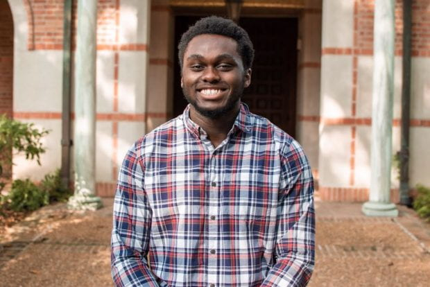 Duncan College junior Cordy McJunkins won a competitive Truman Scholarship, the premier graduate fellowship in the U.S. for those pursuing careers as leaders in public service.
