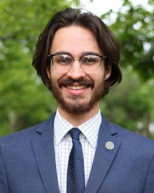 Lovett College senior Maximilian Murdoch