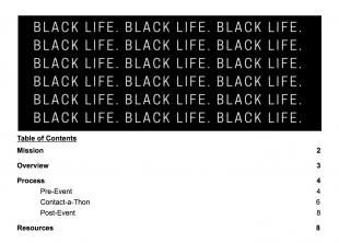 Rice For Black Life members created a toolkit shared via Google Drive for other students to use at their own colleges.