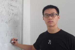 Rice University's Zhiyuan Wang is a graduate student in physics and astronomy