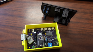 The W5YM repeater controller, based on a Teensy3.1 USB-based microcontroller development system, enables remote control of the W5YM DR-1X repeater system.