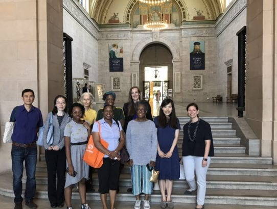 Day 5: Guided Tour of the Chinese Art Collection at DIA by Dr. Katherine Kasdorf, Talk by Prof. Yunshuang Zhang, and CHCI's President Dr. Sara Guyer's visit