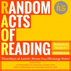 Random Acts of Reading