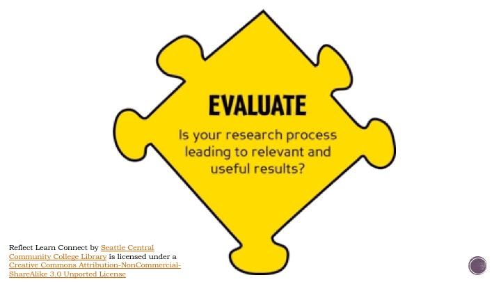 Evaluate!