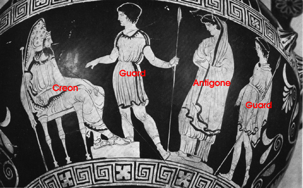 an analysis of the similarities between creon and antigone Everything you ever wanted to know about creon in antigone here's a hypothetical, similar to the one we pose in antigone's character analysis.