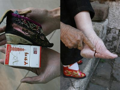 essays about foot binding