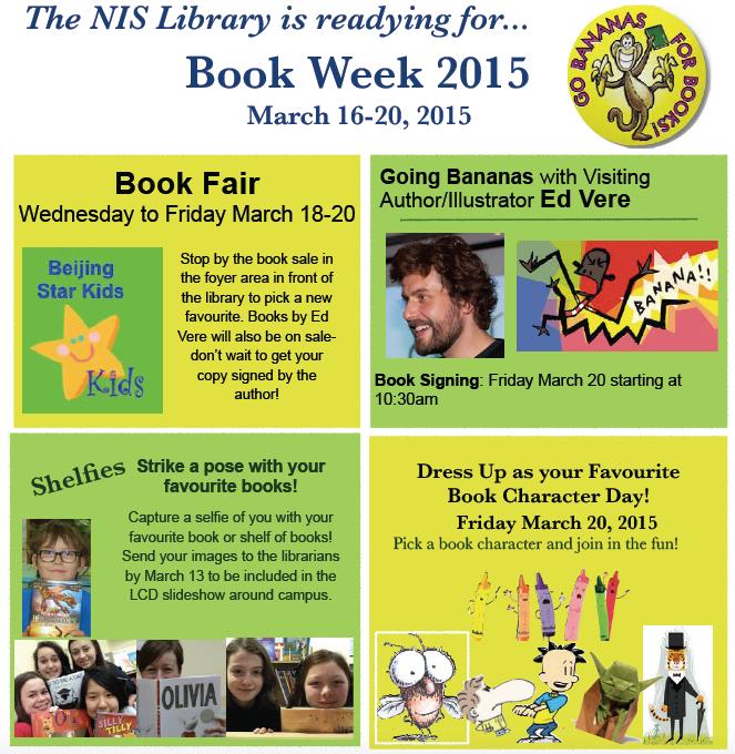 Book Week Announcement 2015