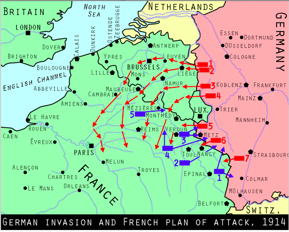 the failure of the schlieffen plan stalemate essay A bbc bitesize secondary school revision resource for standard grade history on the schlieffen plan: what happened, why did the schlieffen plan fail.