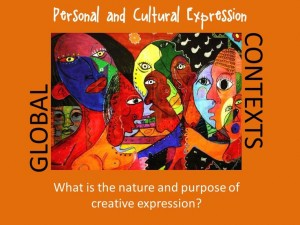 Personal and cultural expressions