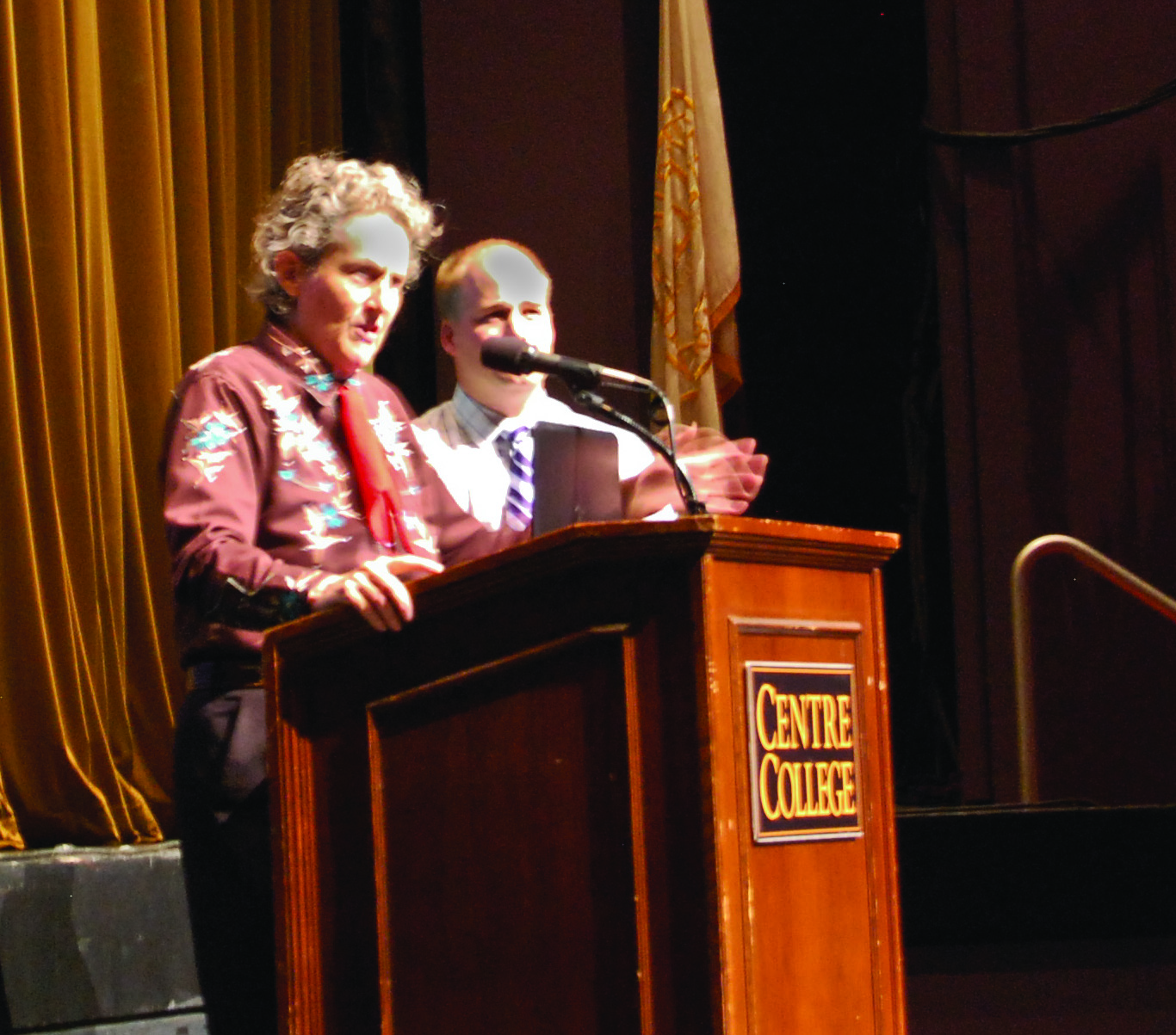 First-Year Book Author Temple Grandin