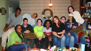 The Posse Scholarship is just one way Centre promotes diversity in the student body. Pictured above are members of Posse Seven