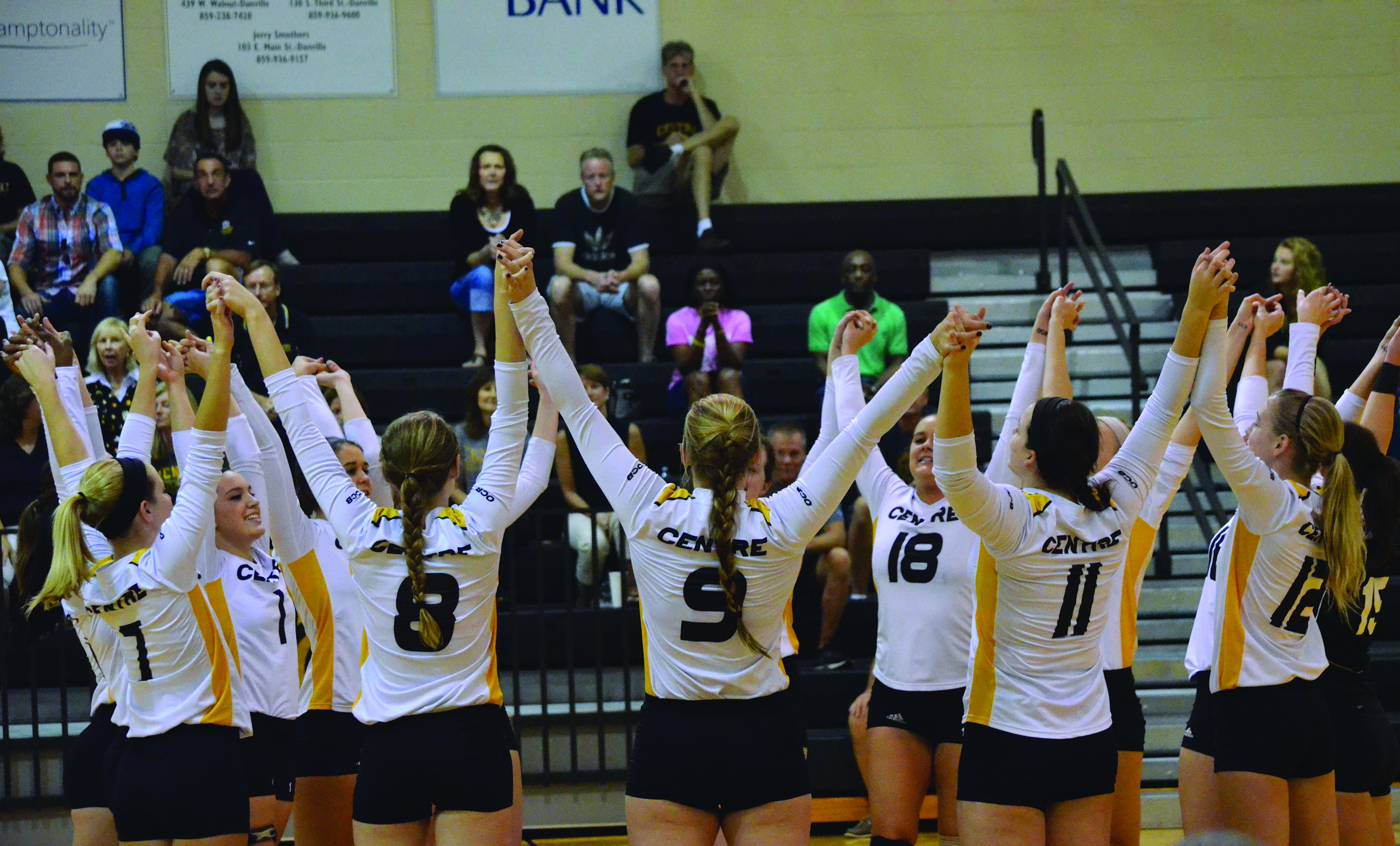 Volleyball Positivity Leads to Success in 2013