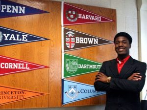 Kwasi Enin was accepted to all eight Ivy League Universities for the fall of 2014. Enin has yet to decide which one he will be attending.