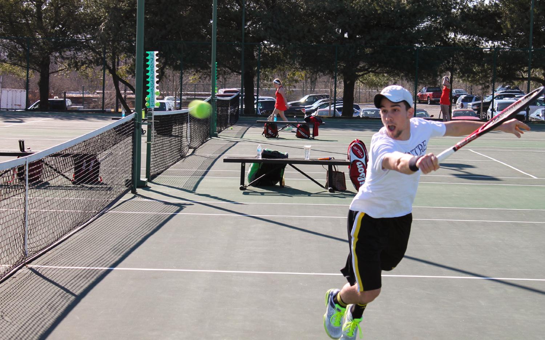 Men's Tennis grows through facing adversity