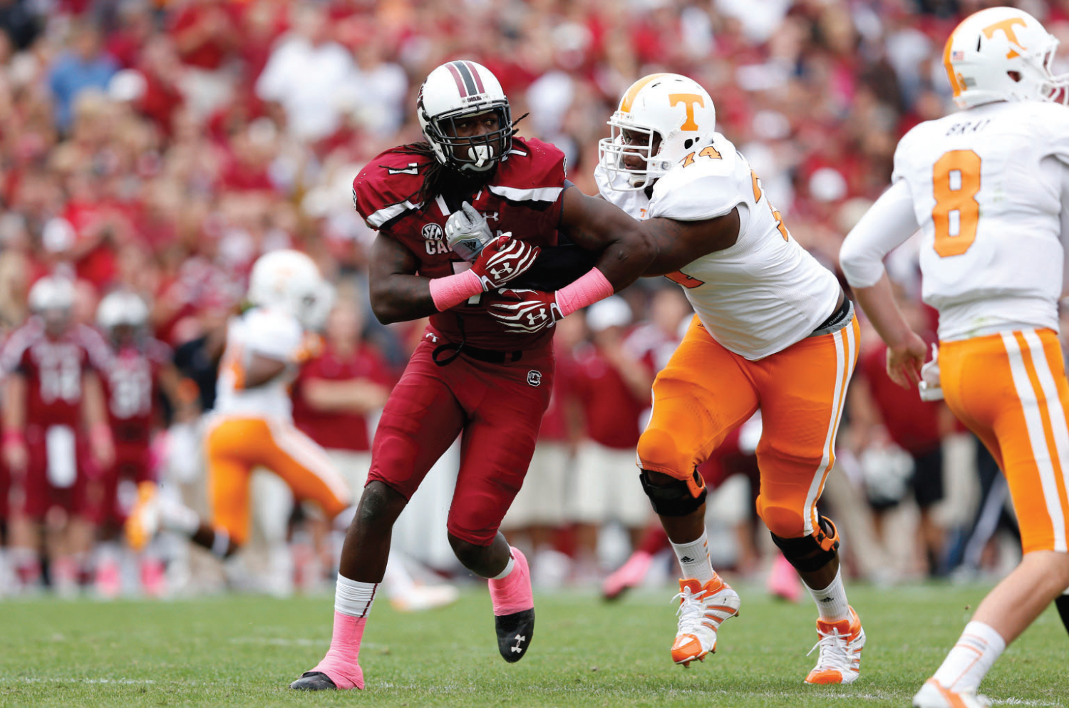 Who will be taken first overall in the 2014 NFL Draft?