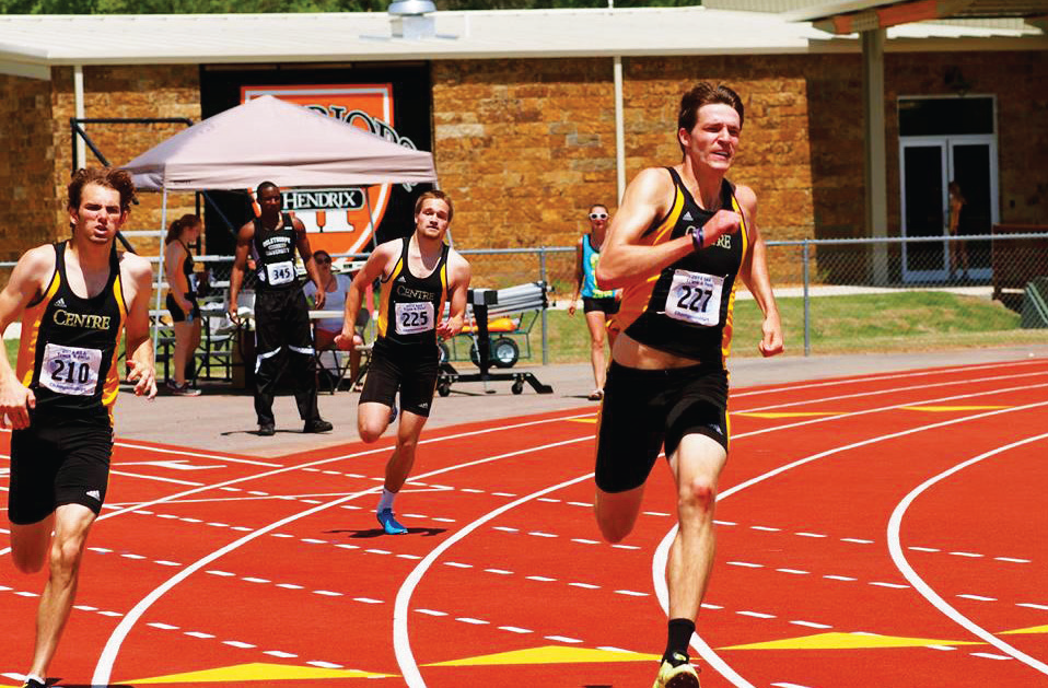 Centre Track and Field continues their winning ways this season