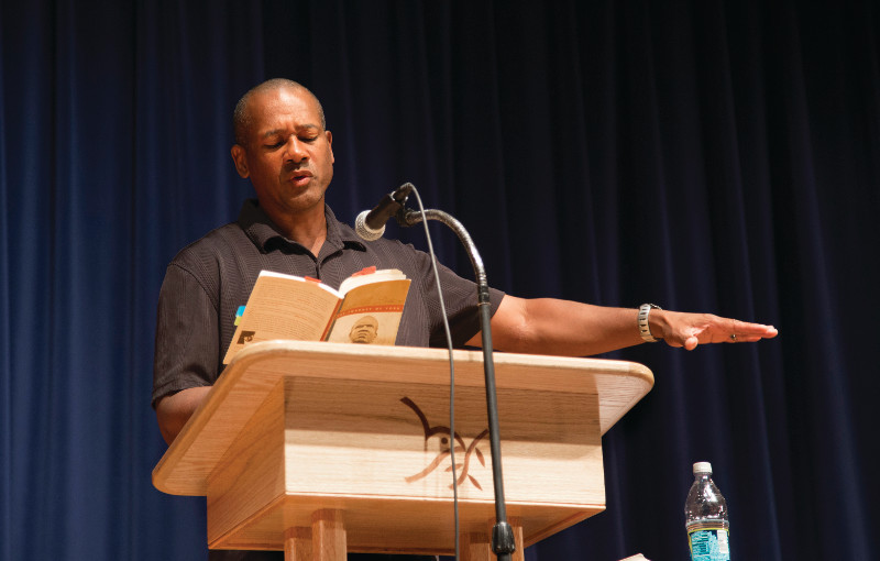 Frank X Walker is one of many guest speakers who appeared as part of the special programming highlighting the Civil Rights movement