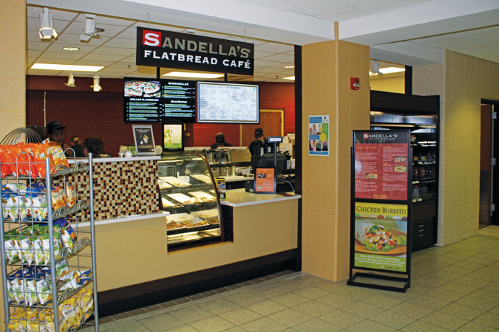 Sandella's Stirs Up New Food Options on Campus