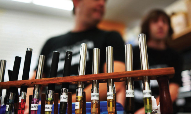 Indoor Smoking of E-cigs Banned as Concerns Still Linger