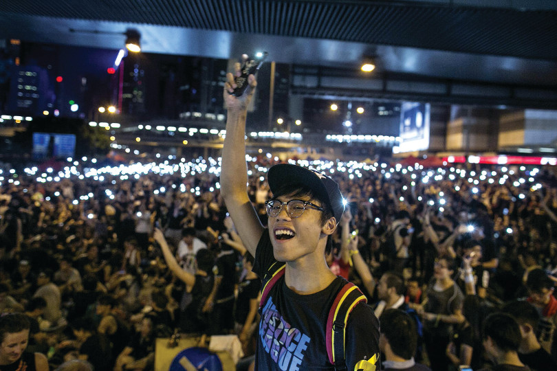 While thousands of people have flocked to protest, it is unclear whether China will back down and allow Hong Kong to choose its own candidates