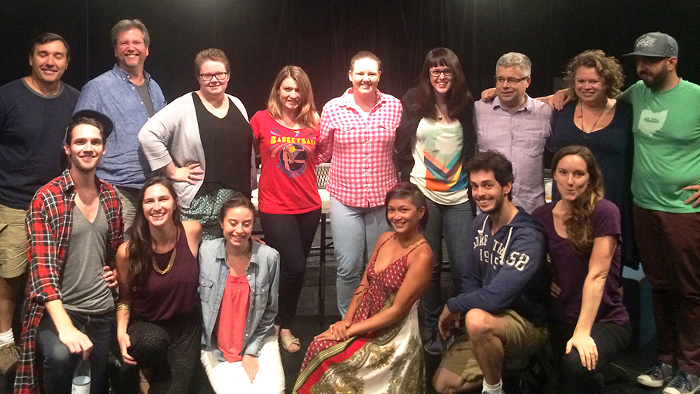 Centre participates in collaborative theater project